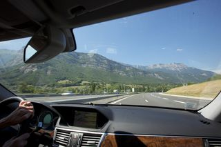 Through The Swiss and French Alps